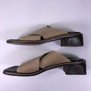 Donald J. Pliner Shoes - Donald J Pliner Square Toe Mule Sandal Shoes